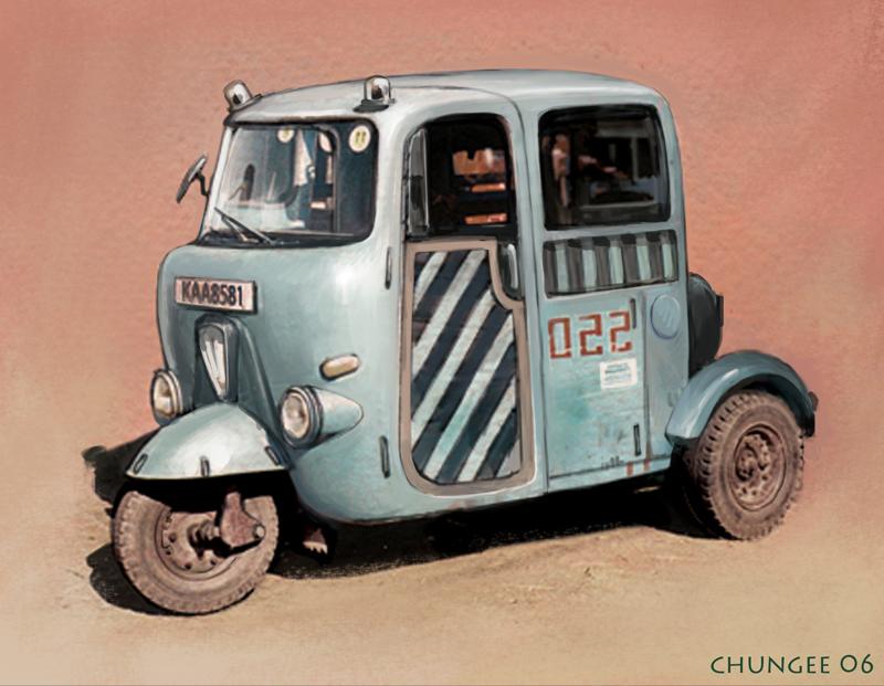 Old Vehicle - www.cgooi.com