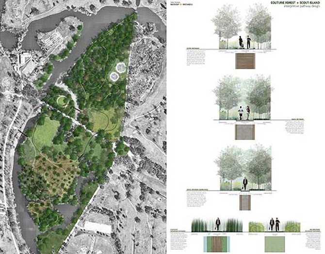 Couturie Forest Island Master Plan Colectivo