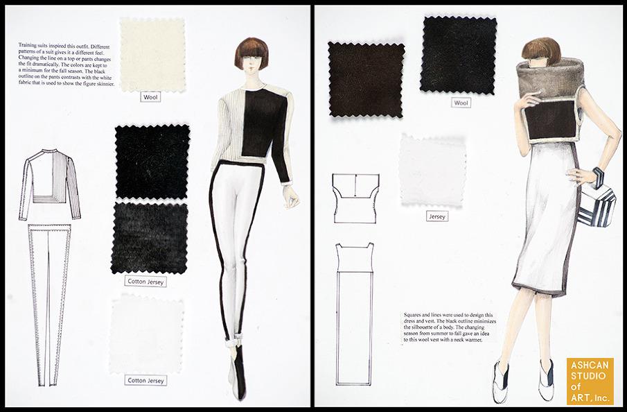 Portfolio Preparation For Fashion Design