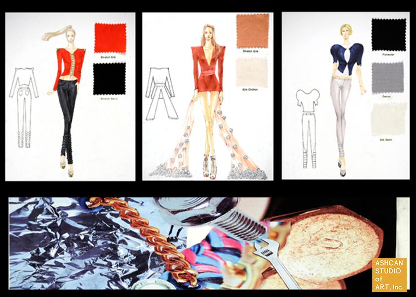Graphic Design School >> 13.Jungwon Han | Parsons- Fashion Design. - ASHCAN STUDIO OF ART,INC